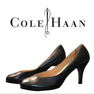 Cole Haan Nike Air Classic Black Pump Size…